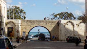 vstupní brána Bari